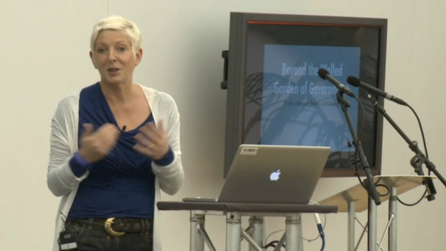 Emer Coleman with David Rowan Walled Gardens vs Open Spaces: The Tension at the Heart of the Internet